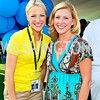Photo by Tony Powell. Lindsay Czarniak, Jessica Gibson. Kastles VIP Reception. Kastles Stadium. July 7, 2010